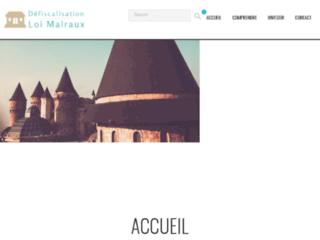 http://www.defiscalisationloimalraux.fr/
