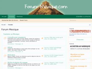 http://www.forum-mexique.com/