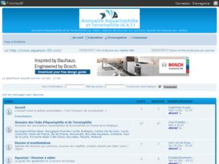 http://aquariophile.forumactif.fr/