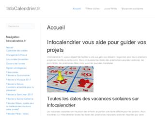 http://infocalendrier.fr/