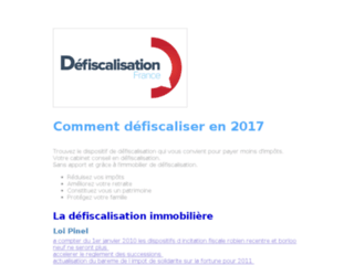 http://www.defiscalisation-france.fr/