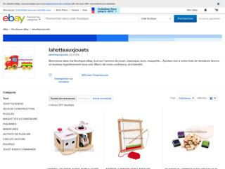http://stores.ebay.fr/lahotteauxjouets
