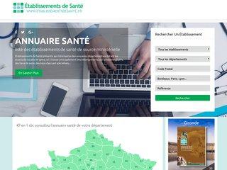 https://www.etablissementsdesante.fr/