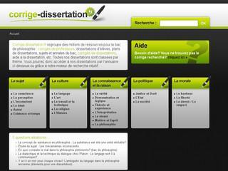 http://www.corrige-dissertation.fr/