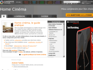 http://home-cinema.comprendrechoisir.com/