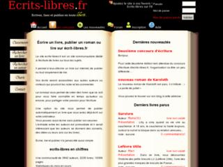 http://www.ecrits-libres.fr/