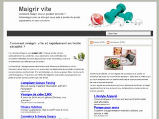http://www.infosmaigrir.com/