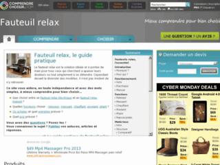 http://fauteuil-relax.comprendrechoisir.com/