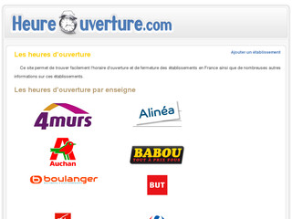 http://www.heure-ouverture.com/